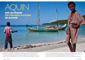 Aquin : Sur les traces des premiers Haïtiens de Guyane