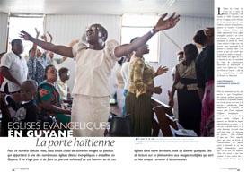 Eglises évangeliques en Guyane : La porte haïtienne