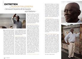Entretien avec Augustin Joseph : « J'ai ouvert la porte de la Guyane aux Haïtiens »