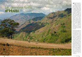 Parc national de la Visite : Les dernières forêts d'Haïti