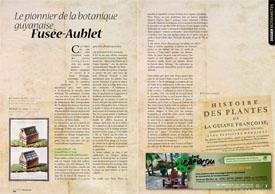 Le pionnier de la botanique guyanaise : Fusée-Aublet