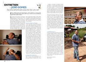 Entretien avec José Gomes : Du rêve américain à la cité Arc-en-ciel