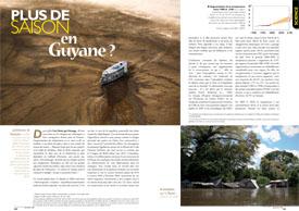 Plus de saisons : en Guyane ?