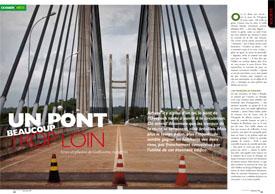 Un pont : beaucoup trop Loin