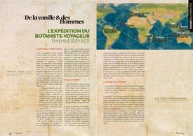 De la vanille & des Hommes : L'expédition du botaniste-voyageur Perrotet (1819-1821)