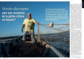 Vessies d'acoupas: vers une révolution de la pêche côtière en Guyane?