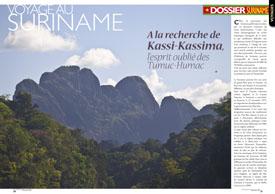 Voyage au Suriname : à la recherche de Kassi-Kassima, l'esprit oublié des Tumuc-Humac