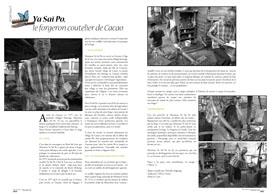 Ya Saï Po : le forgeron coutelier de Cacao