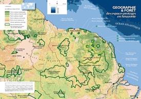 A la découverte des espaces naturels du plateau des Guyanes : les différentes classes de forêt