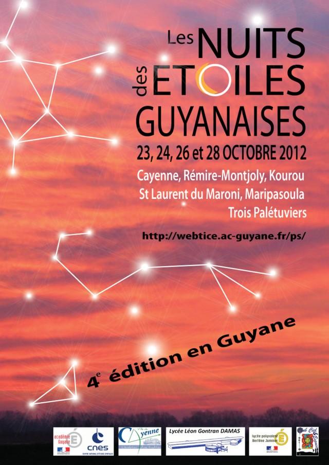 Nuit des étoiles : 4ème édition en Guyane du 23 au 28 octobre