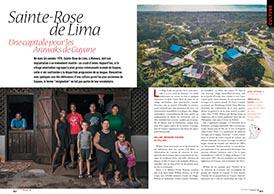 St-Rose de Lima: une capitale pour les Arawak de Guyane
