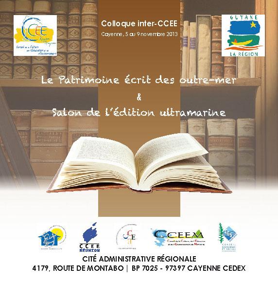 Salon de l'édition ultramarine : Conférence de Dennis Lamaison & participation de Une saison en Guyane