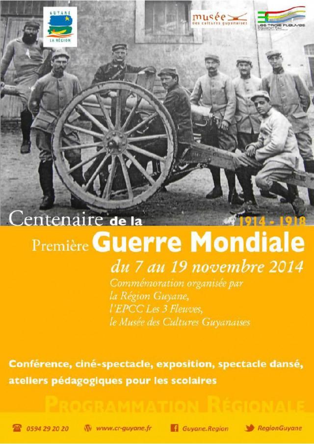 Centenaire :de la Première Guerre Mondiale (1914-1918)