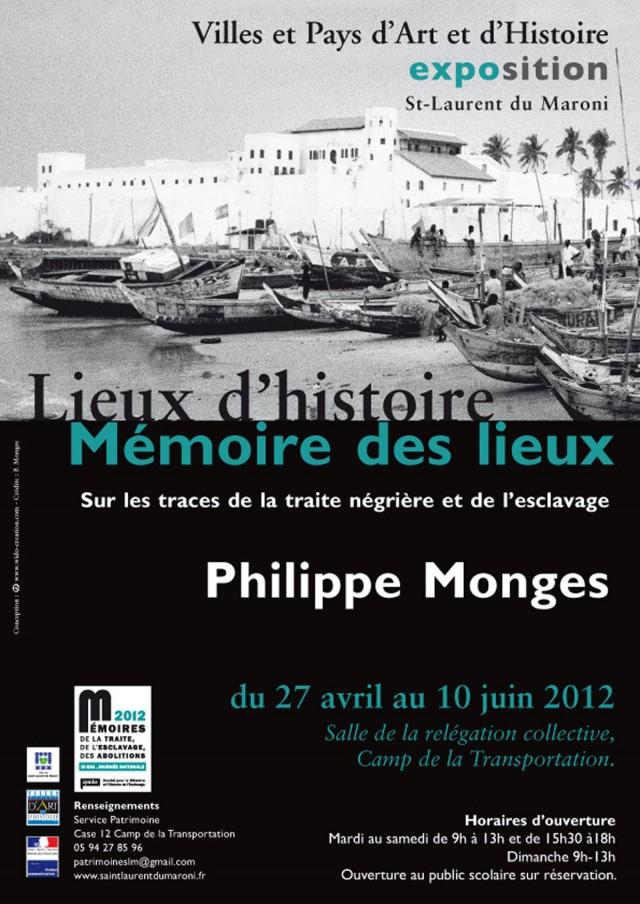 Expo : Sur les traces de la traite négrière et de l'esclavage à St Laurent du Maroni du 27 avril au 10 juin