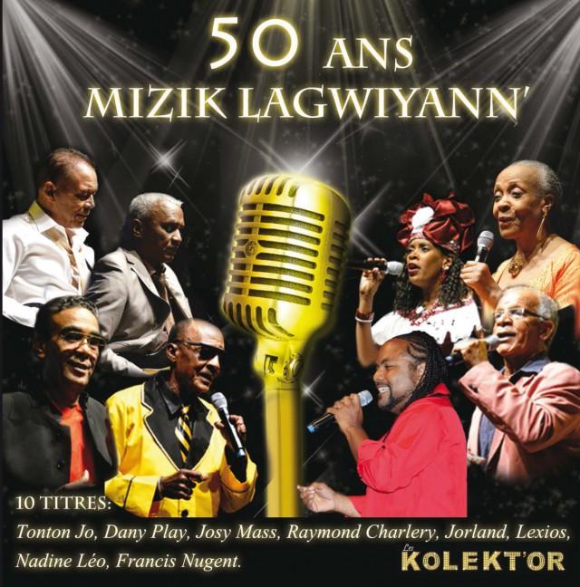 Compilation CD: 50 ans Mizik Lagwiyann