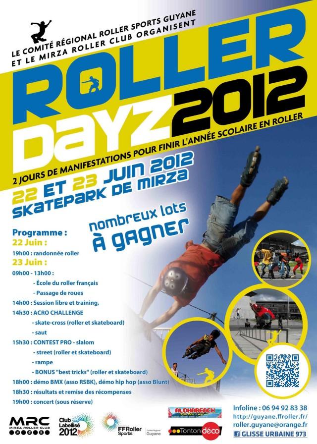 Rendez Vous sportif : Les Roller Dayz 2012 à Cayenne, Mirza les 22 et 23 juin