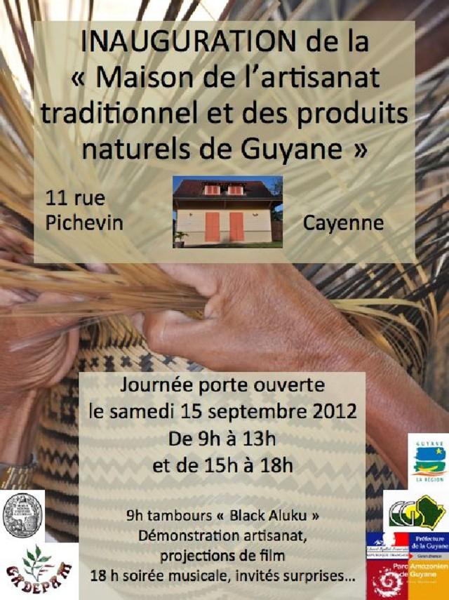 Inauguration : Une maison de l'artisanat traditionnel ouvre en Guyane