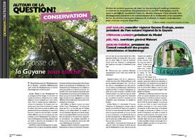 Autour de la question de la conservation : L'angoisse de la Guyane sous cloche ?
