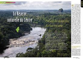 La réserve naturelle du Centre: Trésor écologique du Suriname