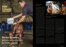 Derrière la caméra: portraits des vrais acteurs  du cinéma guyanais