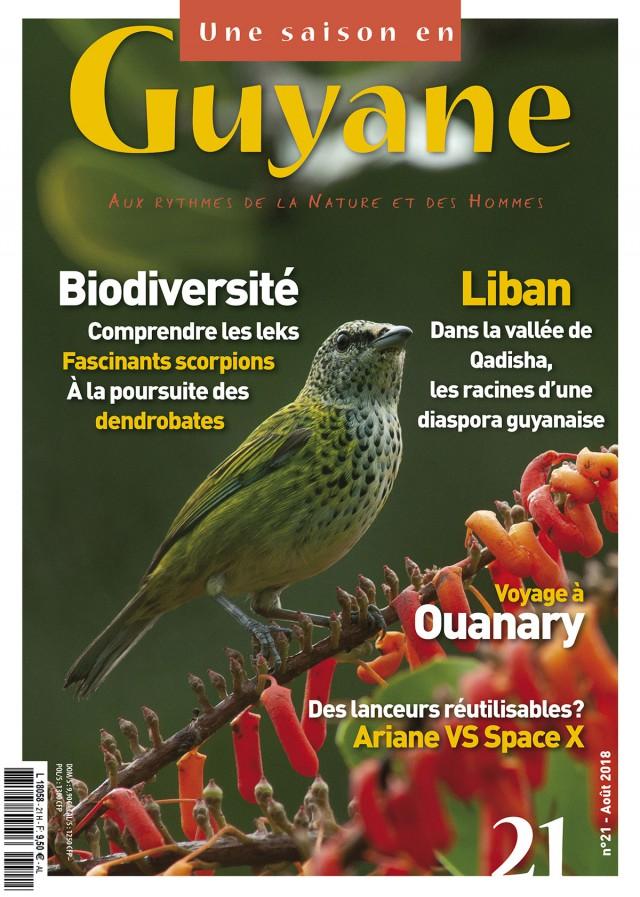 Le nouveau numéro est disponible : le 9 août en France hexagonale, le 6 septembre en Guyane