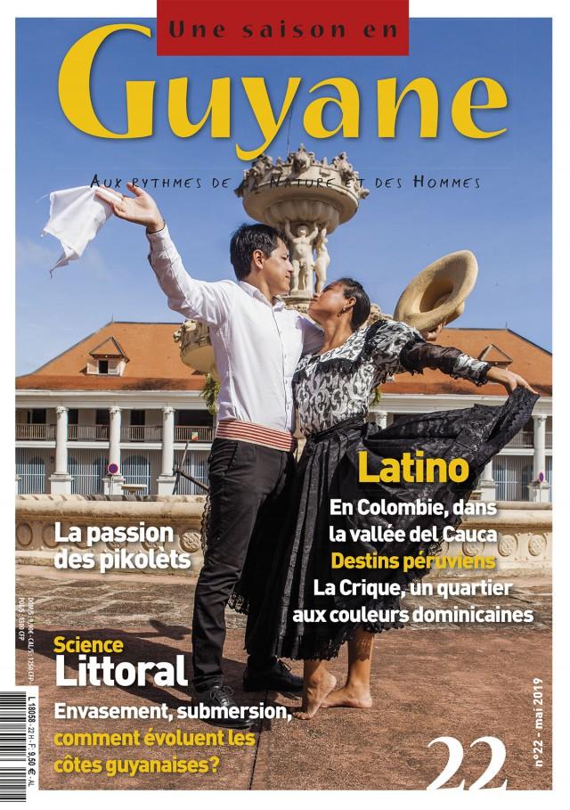 Le nouveau numéro (N°22) : est disponible en Guyane, dans l'Hexagone & dans notre boutique