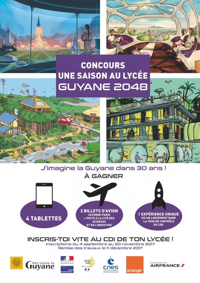 Concours Une saison au lycée : Imagine la Guyane dans 30 ans
