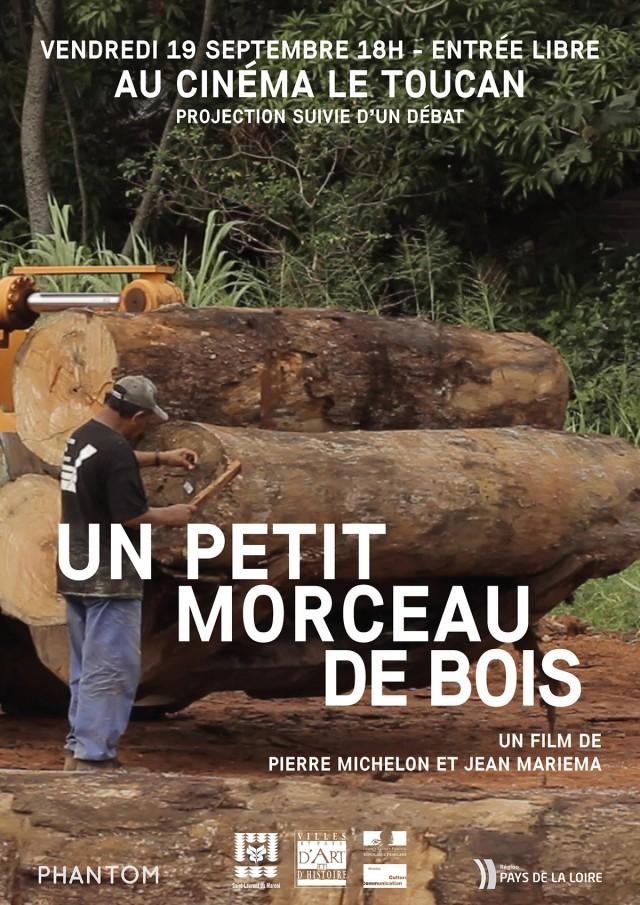 Projection-débat : UN PETIT MORCEAU DE BOIS De Pierre Michelon