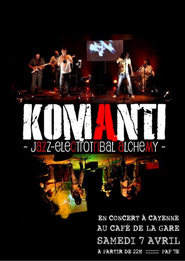 Musique Live : Electro-Jazz à Cayenne