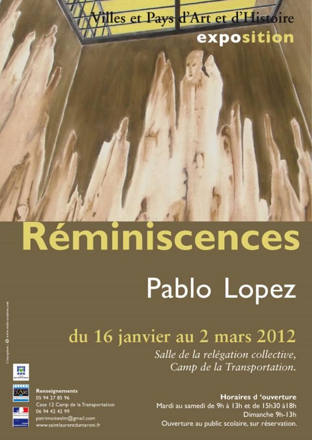 Exposition :  Réminiscences, Pablo Lopez au camp de la transportation