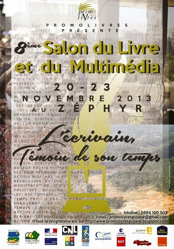 8ème Salon du Livre & du Multimédia : à la salle de Zephyr de Cayenne