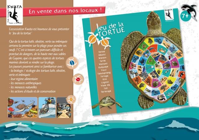 Le jeu de la Tortue : Le jeu de l'oie Péyi signé Kwata.