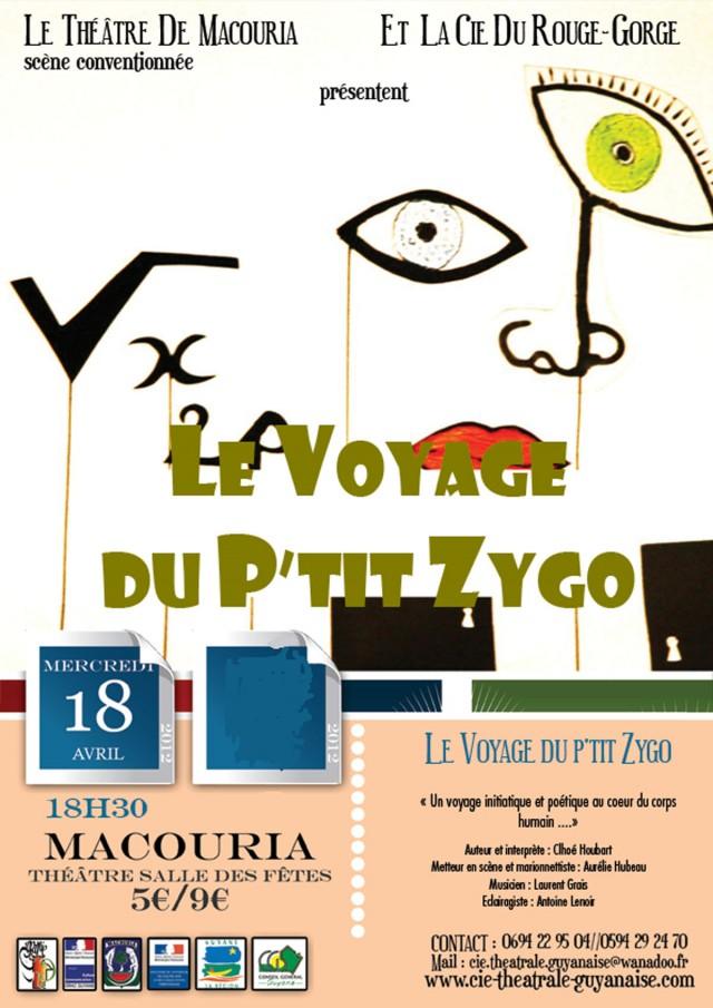 Théâtre : Le voyage du P'tit Zygo à Macouria