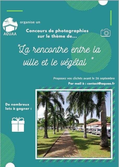 Cahier des charges AQUAA Concours de photographies :« La rencontre entre la ville et le végétal »