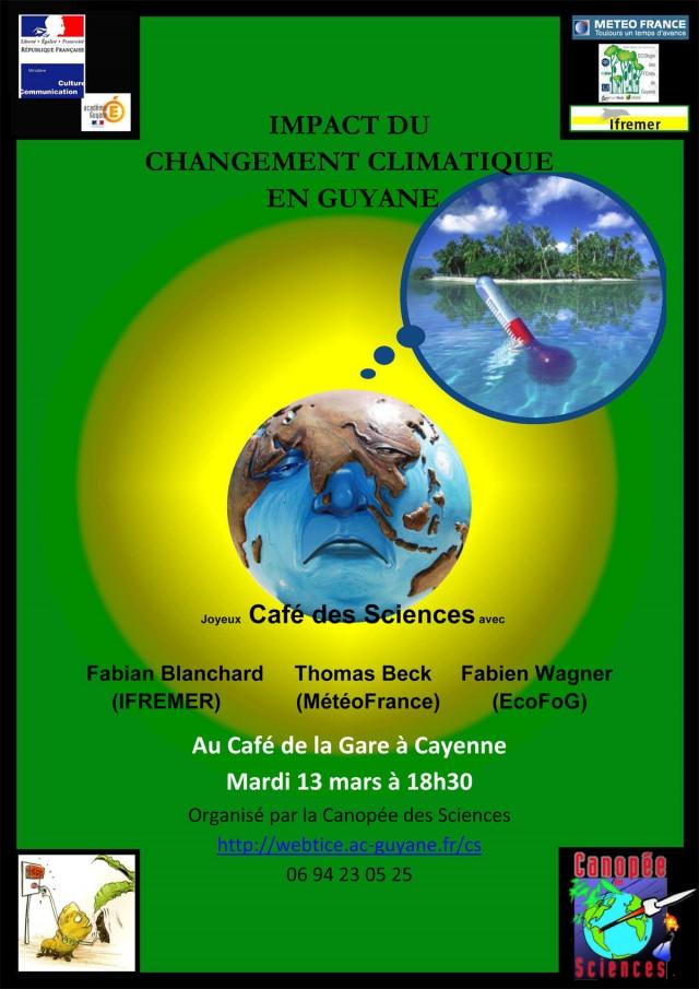 Conférence : Changement climatique, quel impact en Guyane ?