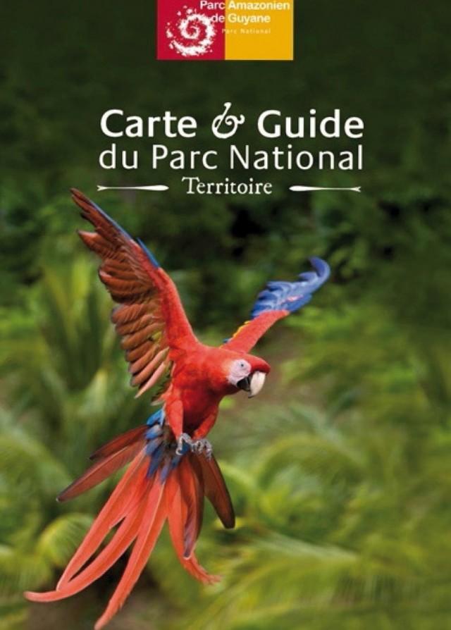 Parc amazonien de Guyane : une carte poster du Sud de la Guyane