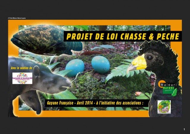 Proposition de loi : Chasse et Pêche pour la Guyane