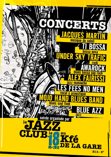 Café de la gare : Concert jazz