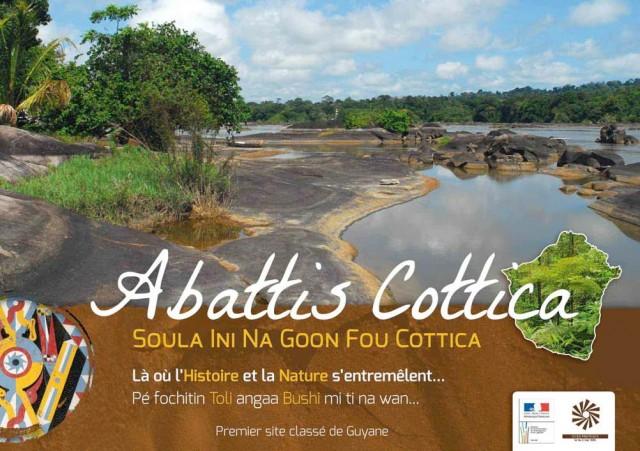 Les abattis et la montagne Cottica : Premier site classé de Guyane