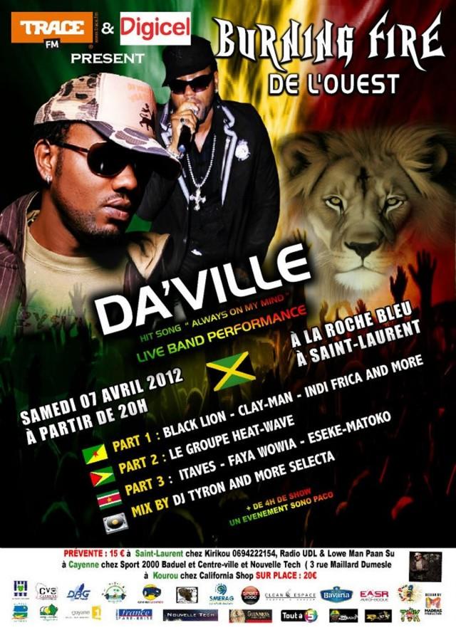 Musique Live : Reggae & Dancehall à St Laurent (Guyane, Suriname, Guyana et Jamaïque)