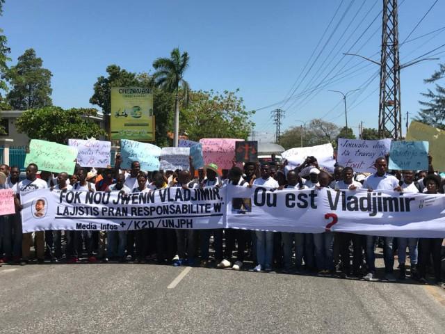 Vladjimir Legagneur :un journaliste haïtien toujours porté disparu