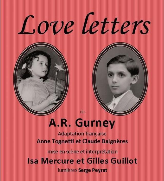 Théâtre : « LOVE LETTERS » De GURNEY à Macouria les 22 et 23 Mars