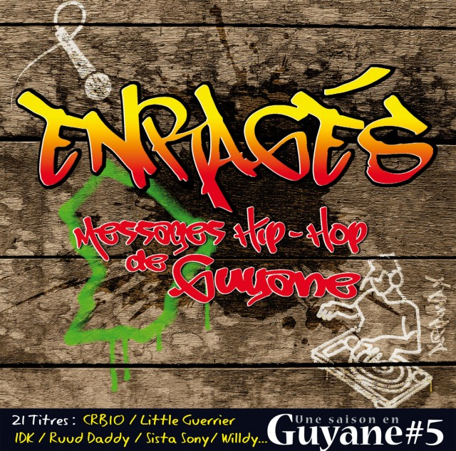 """""""Enragés"""" : Focus sur quelques artistes de notre compilation Hip Hop N°08 version CD"""