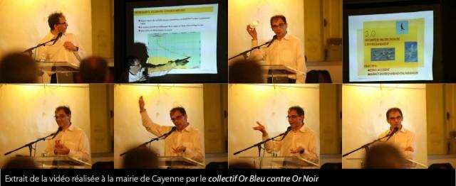 Reunion de présentation SHELL : Le Collectif citoyen « Or Bleu contre Or Noir » répond …