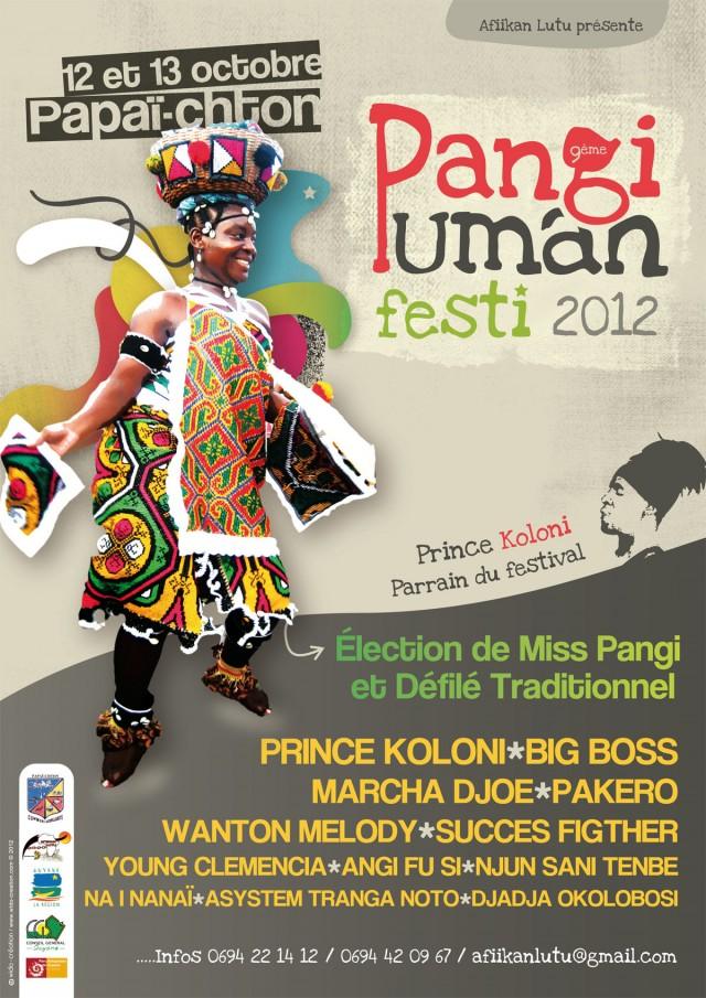 Festival : Pangi Uman Festi, 9ème édition à Papaïchton les 12 et 13 octobre