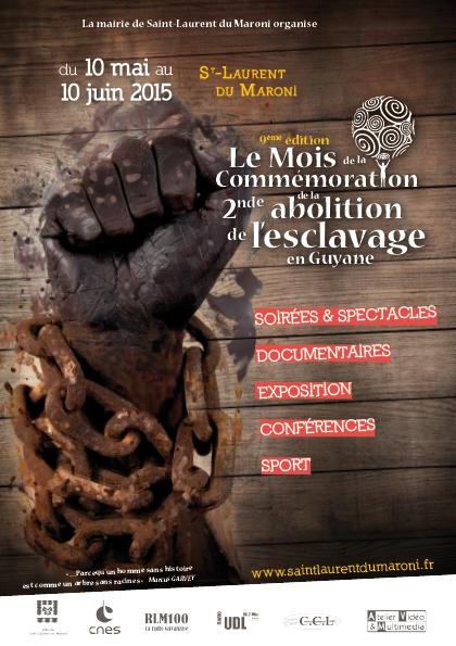 Le mois de la commémoration : de la 2e abolition de l'esclavage en Guyane