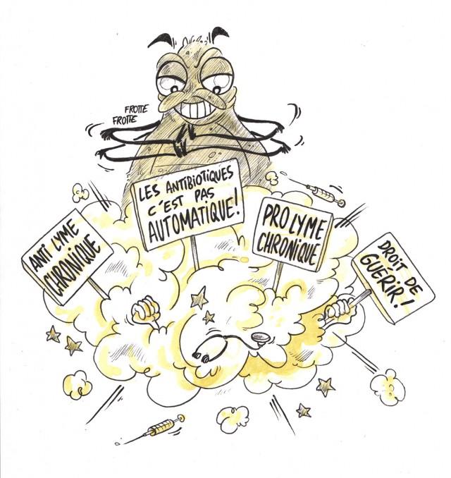 La rubrique de Doc Lucho: Les tiques sèment la zizanie