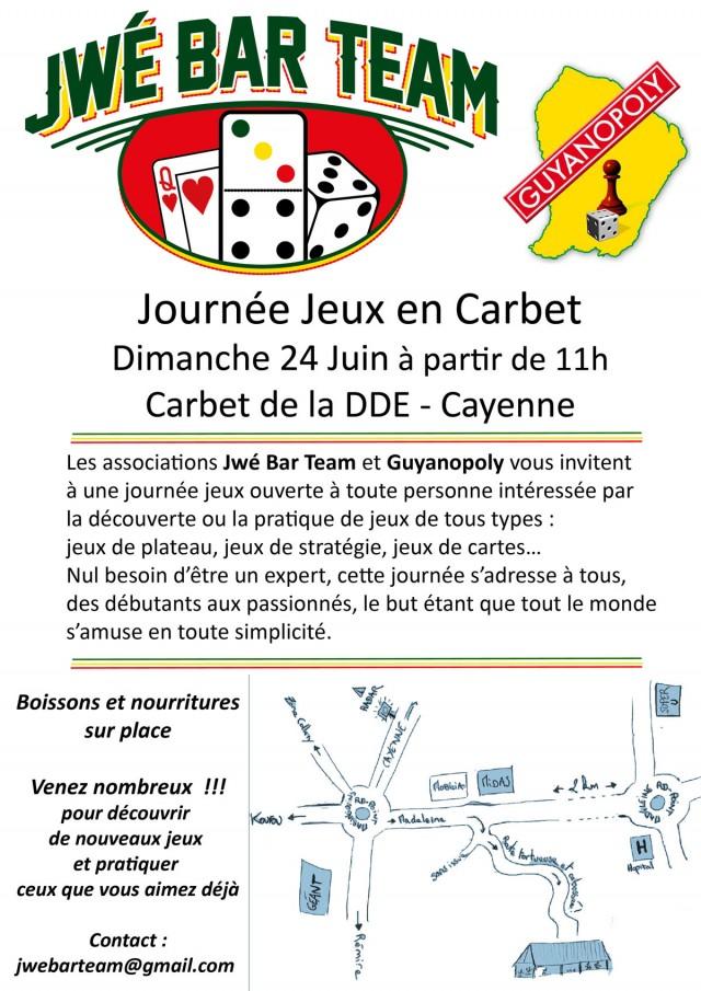 Animation : journée jeux avec Guyanopoly et Jwé Bar Team à Cayenne