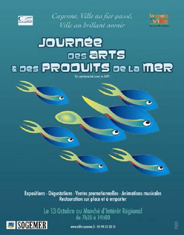 Animations :  Journée des arts et des produits de la mer à Cayenne