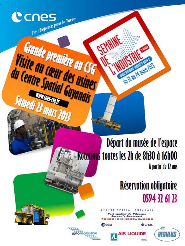 Journée portes ouvertes : au Centre spatial guyanais